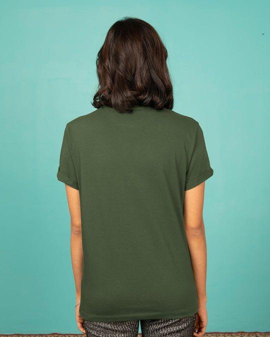 Shop Allergic To Bullshit Boyfriend T-Shirt-Back