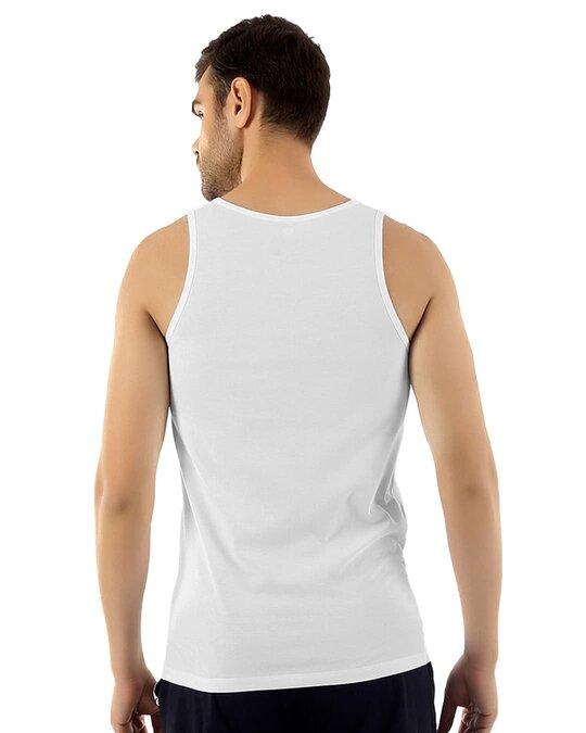 Shop Dario Micro Modal Vest   White