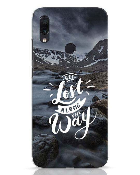 Shop Along The Way Xiaomi Redmi Note 7 Mobile Cover-Front