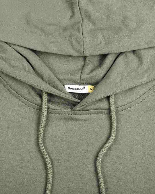 Shop Alpha Green Basic Hoodie