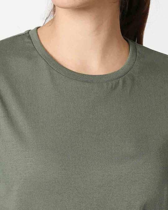 Shop Alpha Green Boyfriend T-Shirt