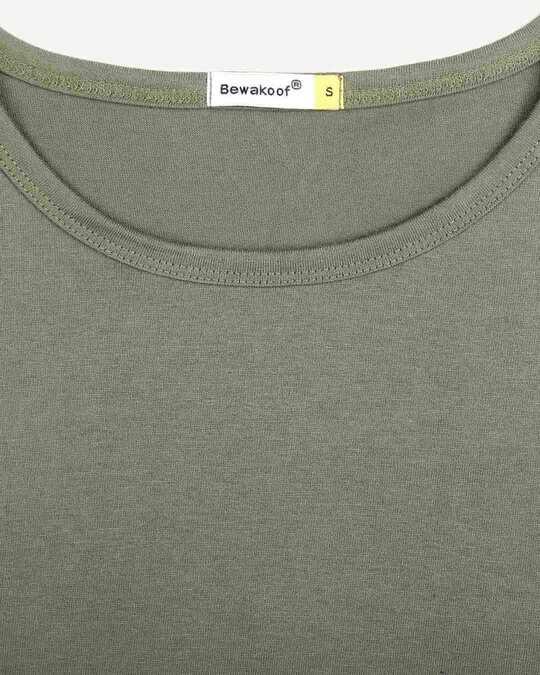 Shop Alpha Green Full Sleeve T Shirt