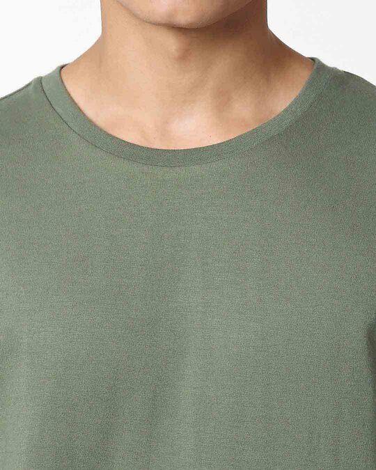 Shop Alpha Green Full Sleeve T-Shirt