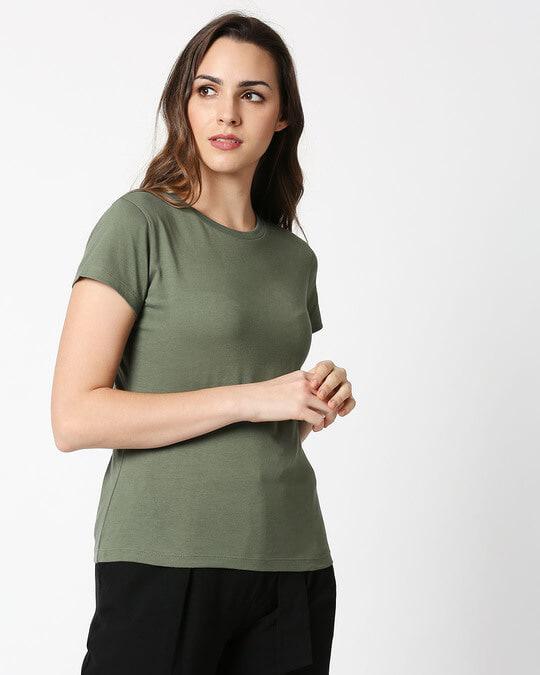 Shop Alpha Green Half Sleeve T-Shirt-Design