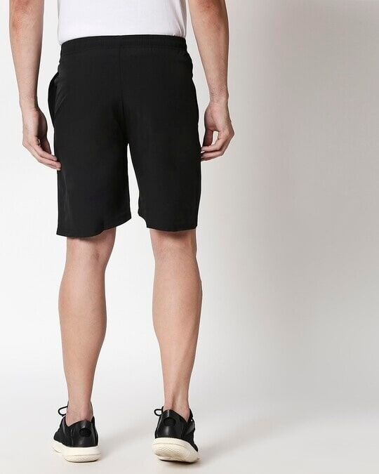 Shop Alstyle | Black Taffeta Shorts-Full