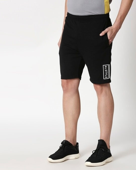Shop Alstyle | Jet Black Shorts-Design