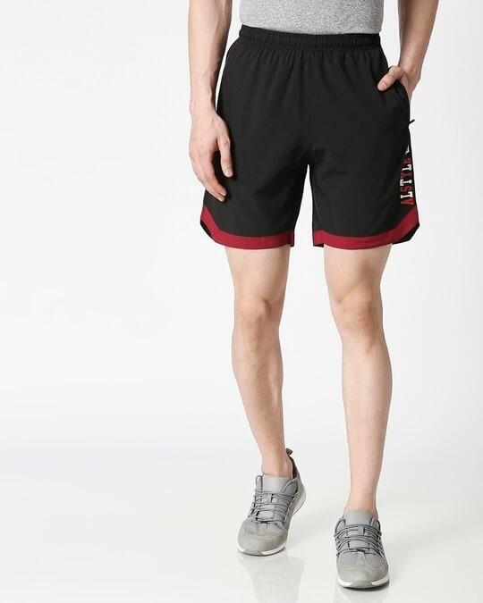 Shop ALSTYLE Men Black Shorts-Back