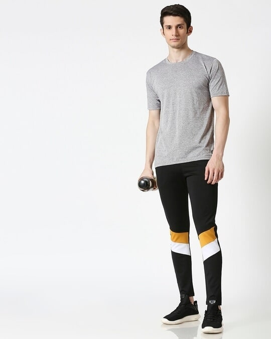 Shop Men Black Track Pant