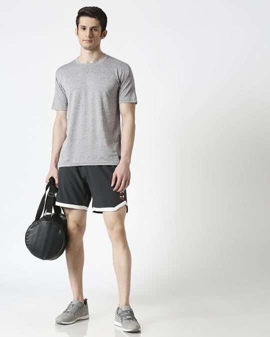 Shop ALSTYLE Men Grey Shorts-Full