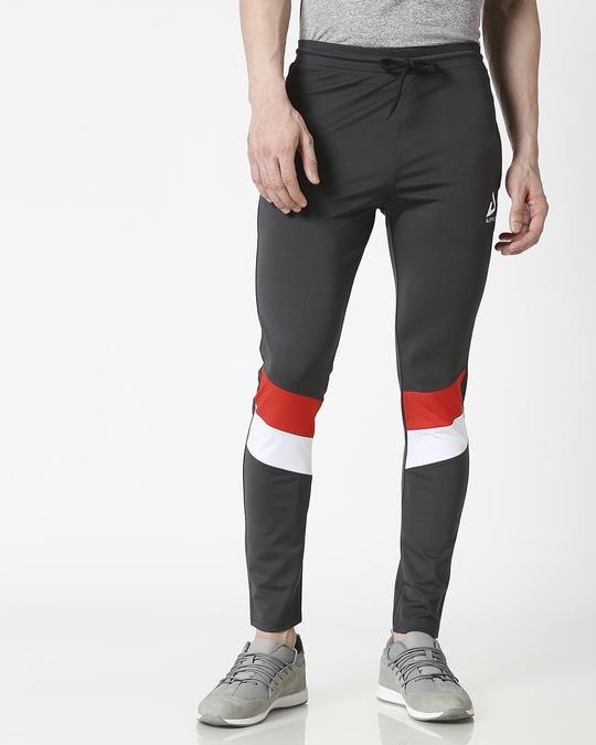 Shop ALSTYLE Men Grey Track Pant-Back