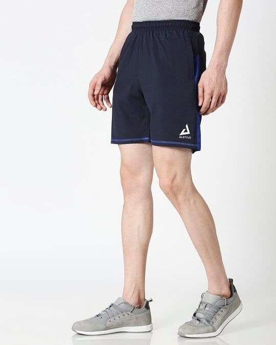 Shop ALSTYLE Men Navy Shorts-Design