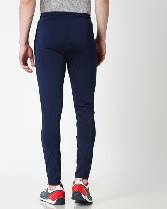 Shop Men Navy Track Pant-Full