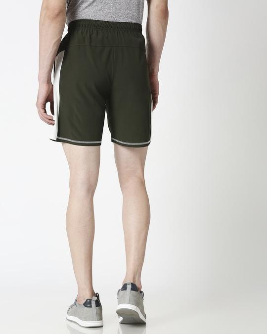 Shop ALSTYLE Men Olive Shorts-Full