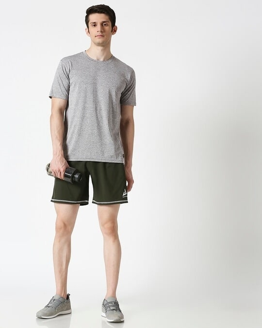 Shop Men Olive Shorts