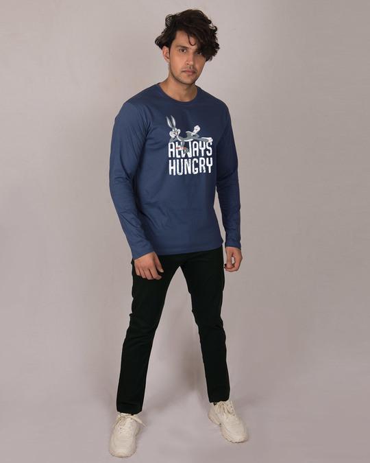 Shop Always Hungry Bugs Full Sleeve T-Shirt (LTL)-Design