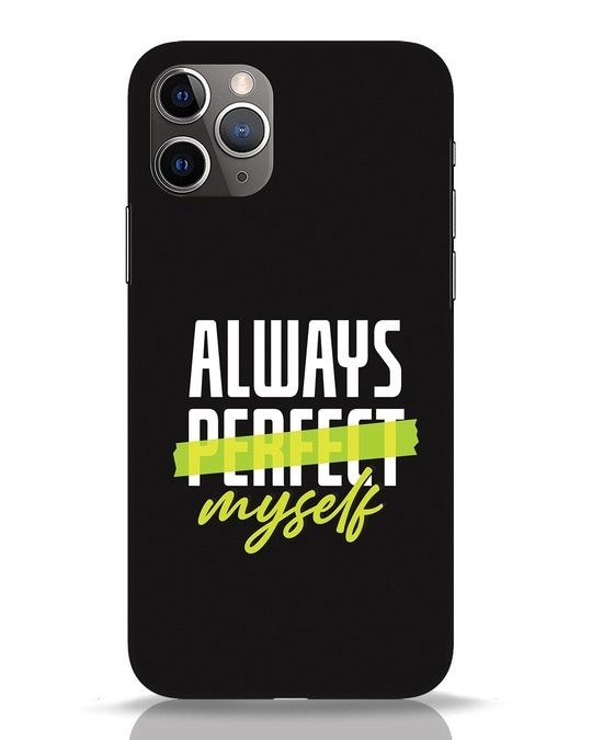 Shop Always Myself iPhone 11 Pro Mobile Cover-Front