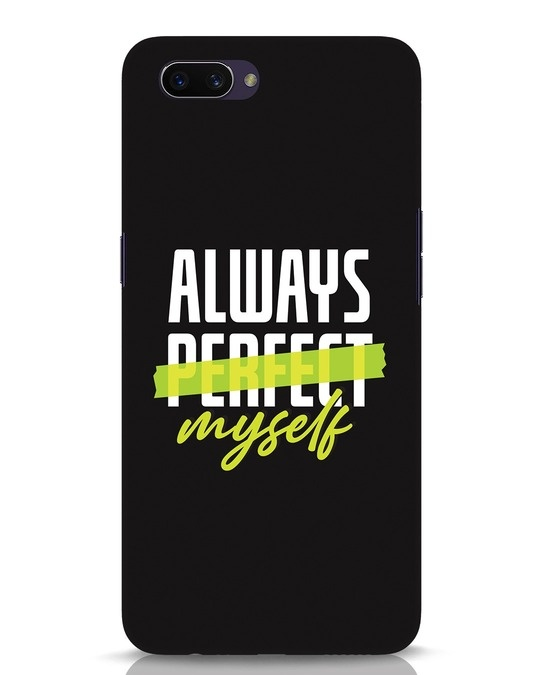 Shop Always Myself Oppo A3S Mobile Cover-Front