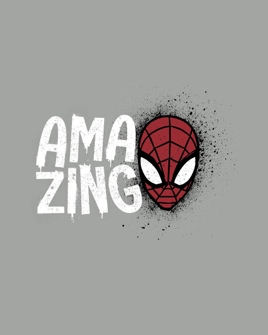 Shop Amazing Spidey Full Sleeve T-Shirt (SML)