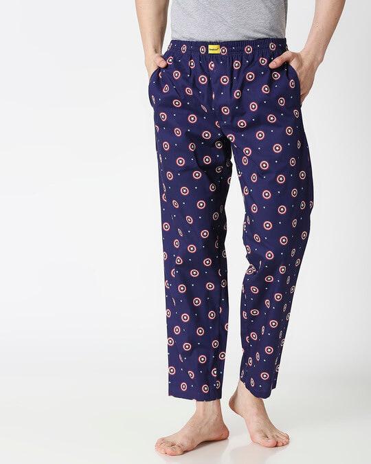 Shop America Shield All Over Printed Pyjama (AVL)-Back