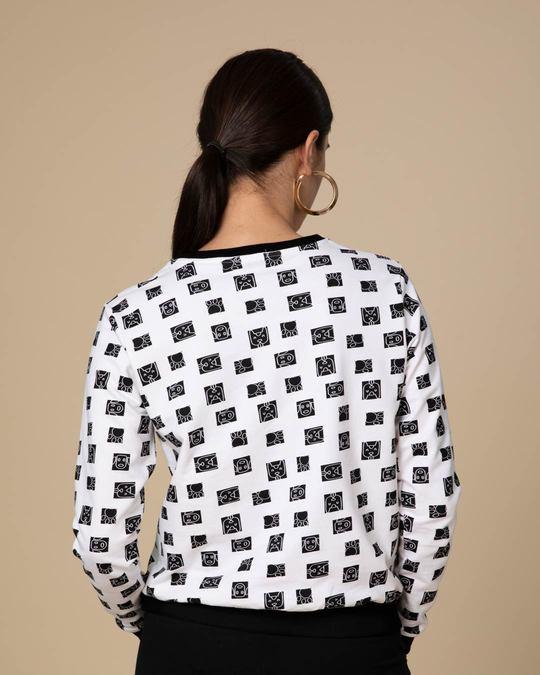 Shop Ancient Dog Face Sweatshirt