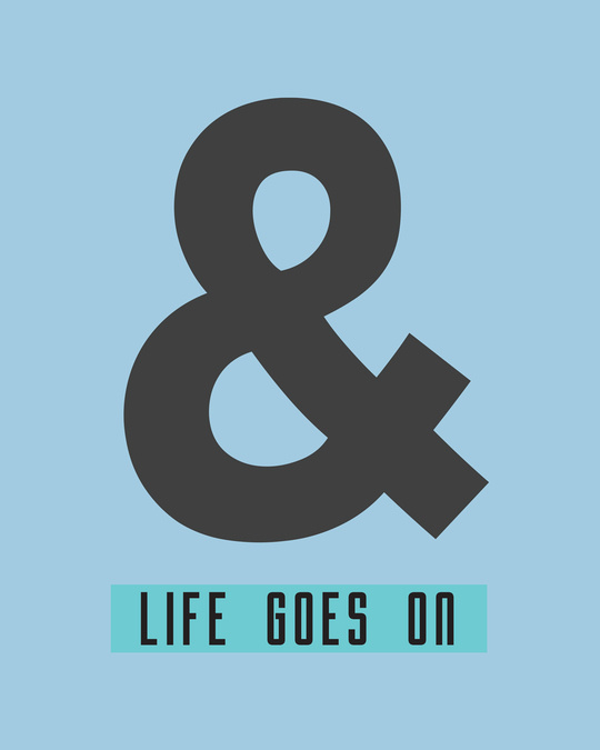 Shop And Life Goes On Full Sleeve T-Shirt-Full