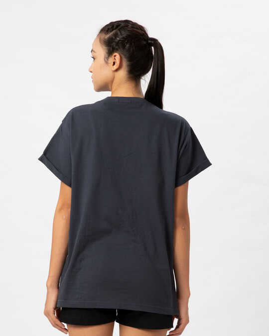 Shop Angrezi Boyfriend T-Shirt-Full