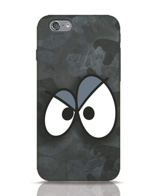 Shop Angry Camo iPhone 6 Mobile Cover-Front