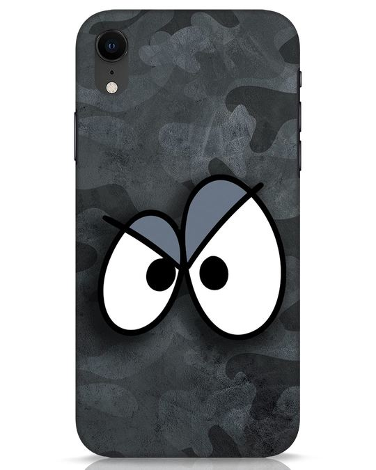 Shop Angry Camo iPhone XR Mobile Cover-Front