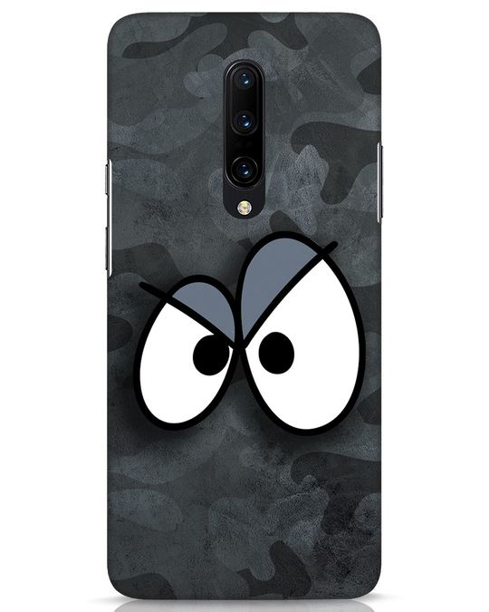 Shop Angry Camo OnePlus 7 Pro Mobile Cover-Front