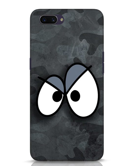 Shop Angry Camo Oppo A3S Mobile Cover-Front