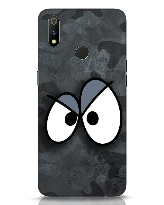 Shop Angry Camo Realme 3 Pro Mobile Cover-Front
