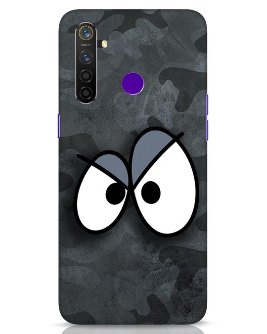 Shop Angry Camo Realme 5 Pro Mobile Cover-Front