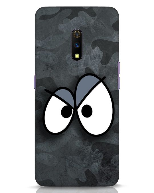 Shop Angry Camo Realme X Mobile Cover-Front