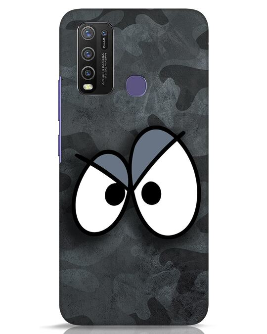 Shop Angry Camo Vivo Y50 Mobile Cover-Front