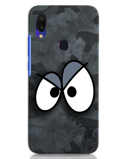 Shop Angry Camo Xiaomi Redmi 7 Mobile Cover-Front