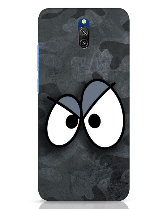 Shop Angry Camo Xiaomi Redmi 8A Dual Mobile Cover-Front