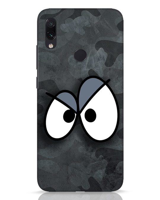 Shop Angry Camo Xiaomi Redmi Note 7 Pro Mobile Cover-Front