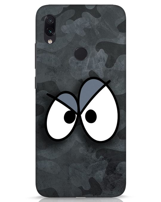 Shop Angry Camo Xiaomi Redmi Note 7s Mobile Cover-Front