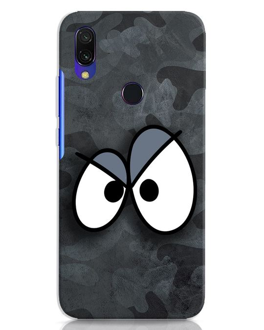 Shop Angry Camo Xiaomi Redmi Y3 Mobile Cover-Front