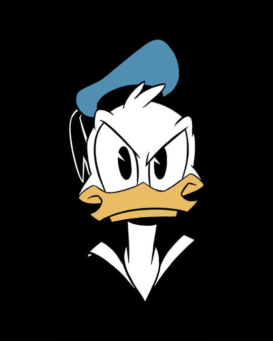 Shop Angry Donald Boyfriend T-Shirt (DL)
