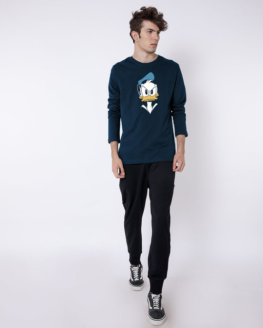 Shop Angry Donald Full Sleeve T-Shirt (DL)