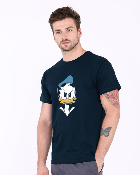 Shop Angry Donald Half Sleeve T-Shirt (DL)-Design