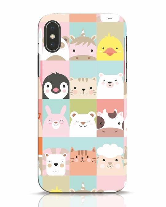 Shop Animal Farm iPhone X Mobile Cover-Front