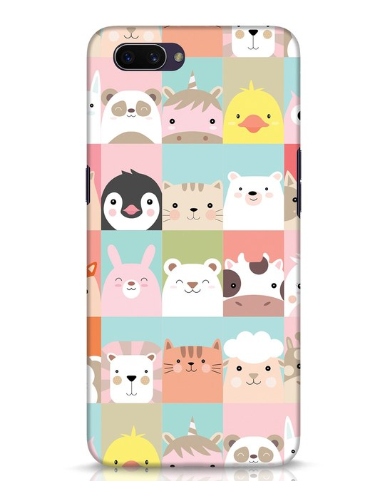 Shop Animal Farm Oppo A3S Mobile Cover-Front