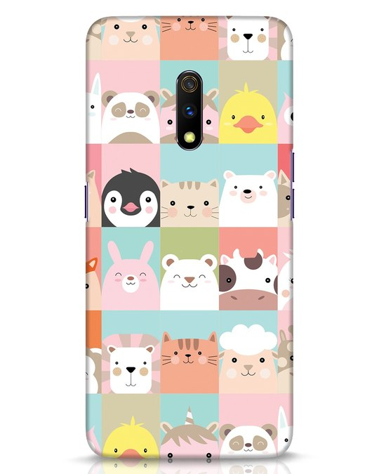 Shop Animal Farm Realme X Mobile Cover-Front