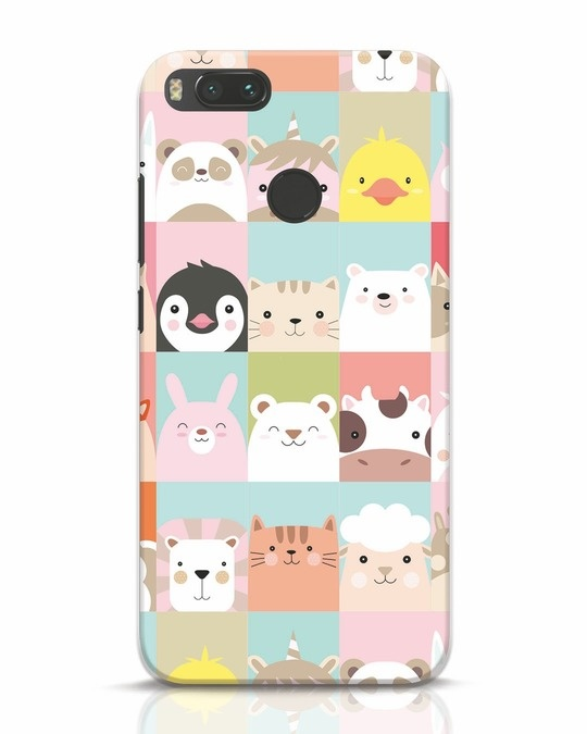Shop Animal Farm Xiaomi Mi A1 Mobile Cover-Front