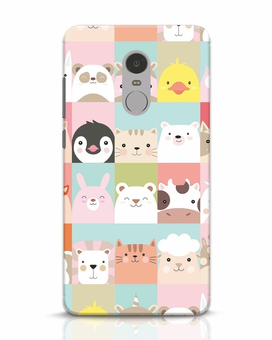 Shop Animal Farm Xiaomi Redmi Note 4 Mobile Cover-Front