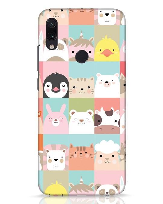 Shop Animal Farm Xiaomi Redmi Note 7 Pro Mobile Cover-Front