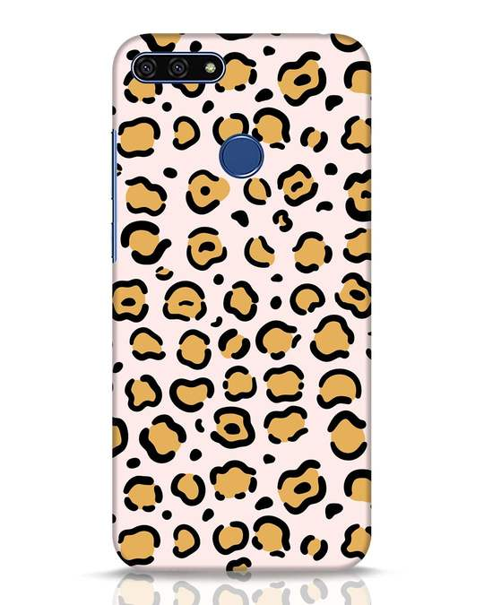 Shop Animal Pattern Huawei Honor 7A Mobile Cover-Front