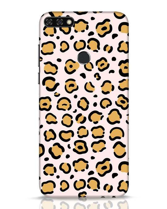 Shop Animal Pattern Huawei Honor 7C Mobile Cover-Front